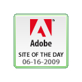 Adobe Site of the Day, June 16, 2009